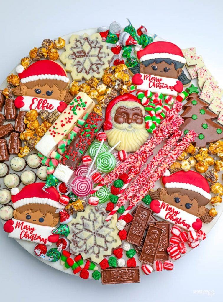 What's on our Elf on the Shelf Cocoa Board