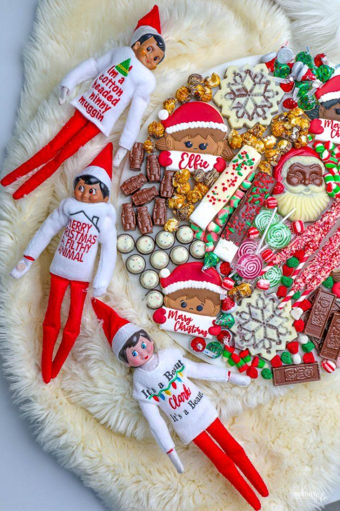 Elf on the Shelf Hot Cocoa Board
