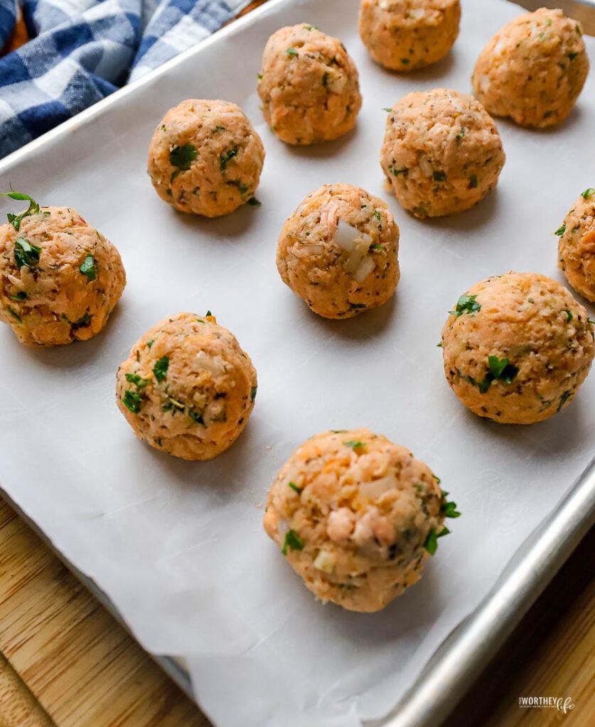 seafood meatballs