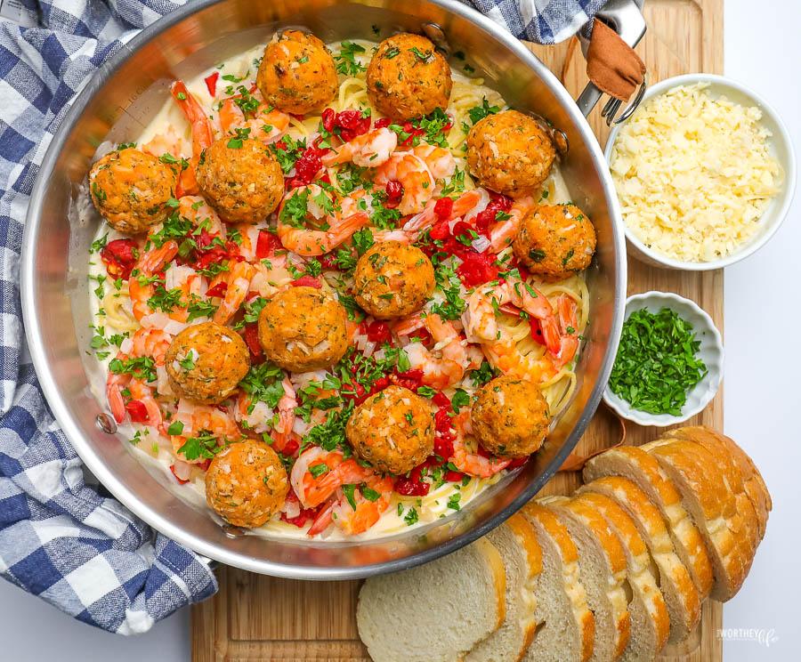 seafood pasta dinners