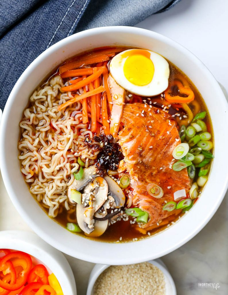 what vegetables to use for ramen
